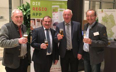 Hermann Kerler von ProNah beim Parlamentarischen Abend in Berlin