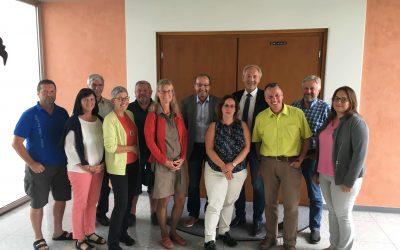 100. Sitzung – ProNah zu Gast bei Landrat Hans-Joachim Weirather